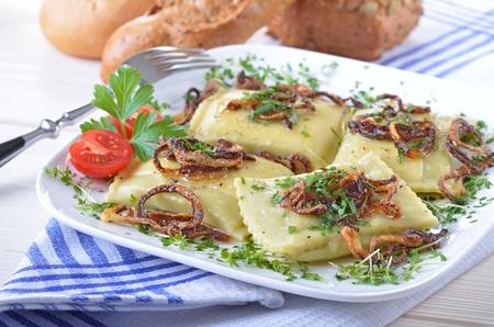 swabian: Swabian ravioli
