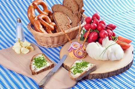 Bavarian snack plate photo