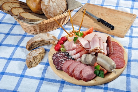 pate: Bavarian snack plate