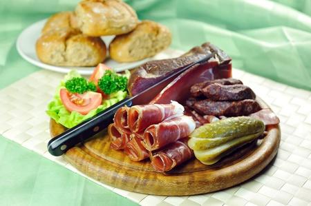 blubber: Tyrolean bacon plate