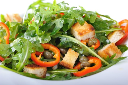 Fresh rucola salad Stock Photo - 13285811