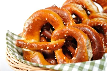 Crunchy pretzels