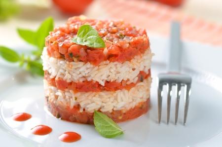 risotto: Tomato risotto