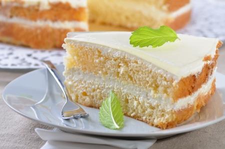 Fancy cake with yogurt and cream cheese Stock Photo - 14518603