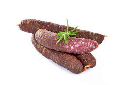 tyrol: Smoked sausages from South Tyrol