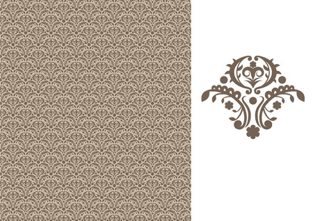 floral seamless wallpaper Stock Vector - 5606677