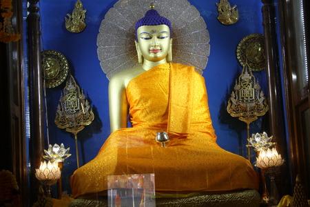 bodhgaya: Pra Sakkayamunee in Bodhgaya Stock Photo