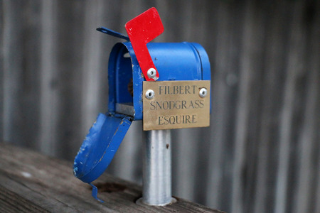 of miniature: Miniature Mailbox