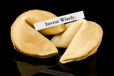 Fortune cookie   Invest Wisely   photo
