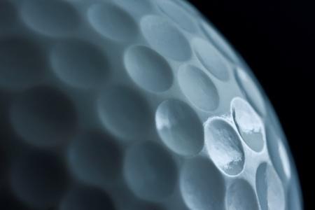 Golf Ball Side View Reklamní fotografie