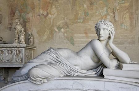 escultura romana: Escultura Bella Mujer Foto de archivo