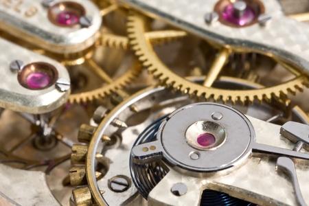 Antique Pocket Watch Mechanism photo