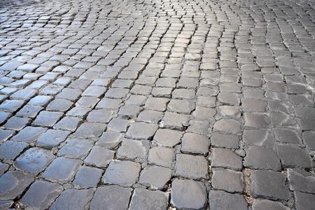 Roman Cobblestone Street