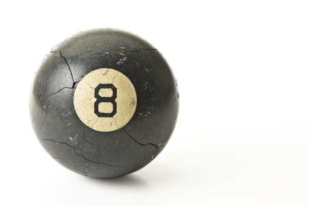Well Used Eight-Ball