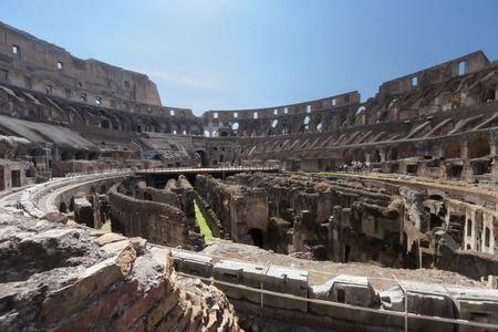 past civilization: Roman Coliseum