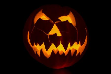 jackolantern: Carved jackolantern ready for halloween