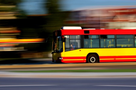 City bus and public transportation Stock Photo - 10327619