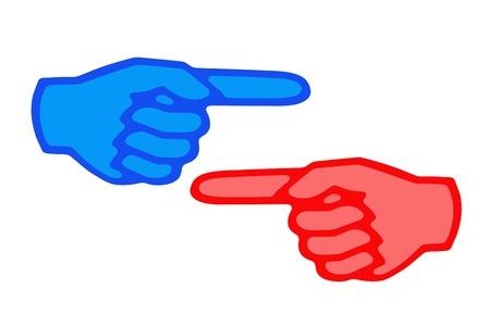 집게 손가락: 집게 손가락 개념