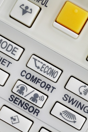 Remote control for air conditioner photo