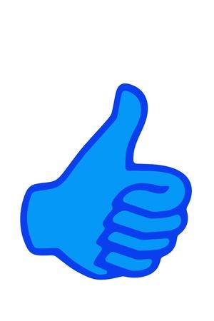 Thumb up photo