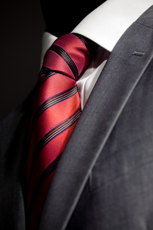 stropdas: Chique en stijlvol pak Stockfoto