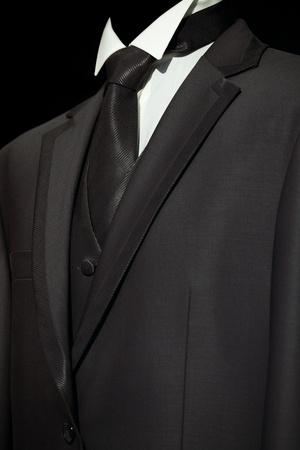 caballeros: Traje elegante y con estilo