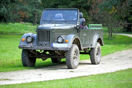 allies: Old allies  military vehicle of world war two Stock Photo