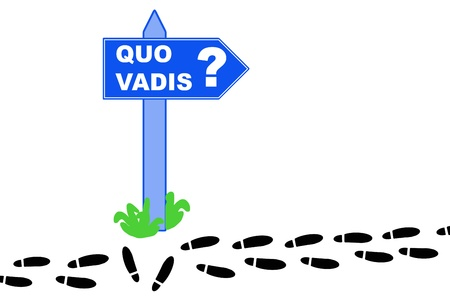quo: Where are you going, quo vadis and way through life