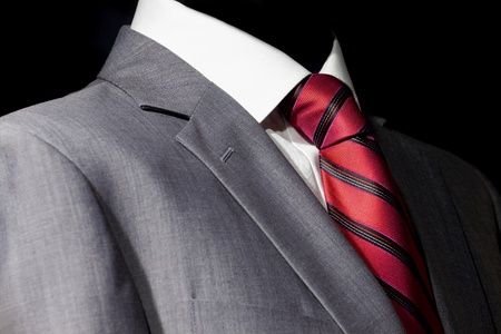 Elegant  suit and tie for businessman Stock Photo - 11038240