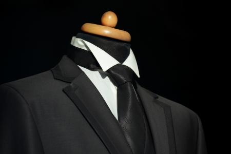 Elegant pak en stropdas voor zakenman