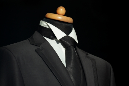 Elegant  suit and tie for businessman