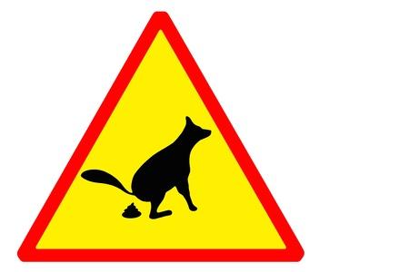 wc: Signboard keine Hunde