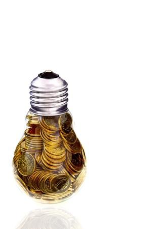 energy costs: Traditional glass bulb and energy savings