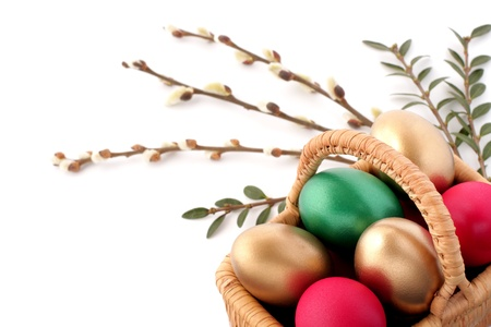 Easter egg and spring time