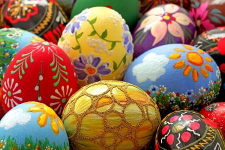 egg shell: Easter egg and spring time
