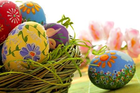 Oeufs de Pâques et de printemps