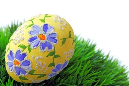 Easter egg and spring time Imagens