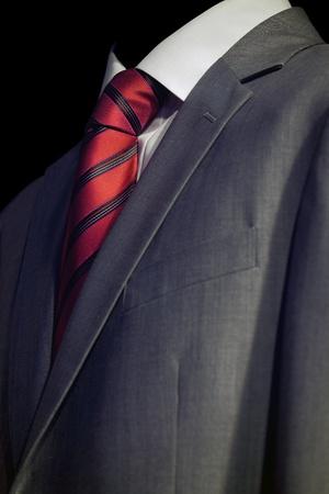 Elegant  businessman in dark suit, business meeting Stock Photo - 12589691
