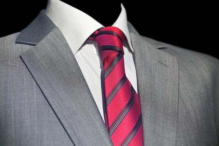 Elegant  businessman in dark suit, business meeting Stock Photo - 12589695