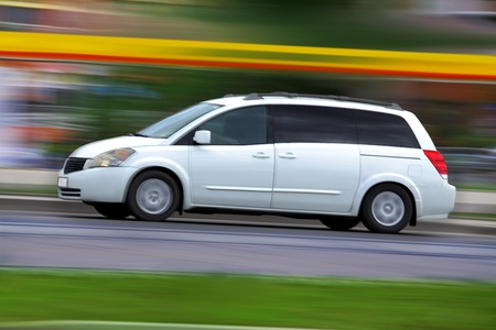 Traveling by car and summer vacation, family travel concept