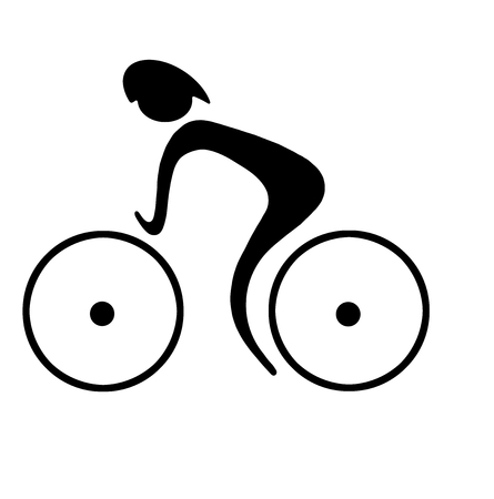 bicycle frame: Cycling sport and recreation, healthy way of life
