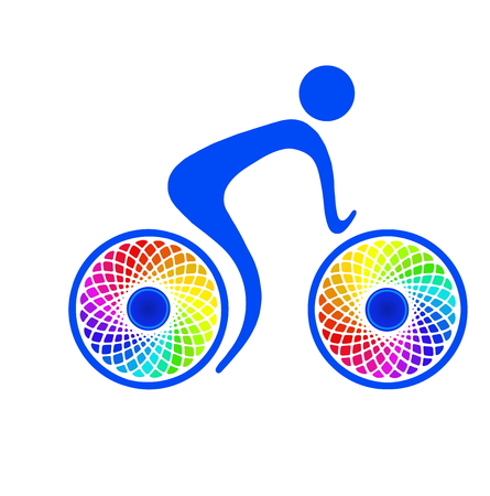 bicyclists: Cycling sport and recreation, healthy way of life