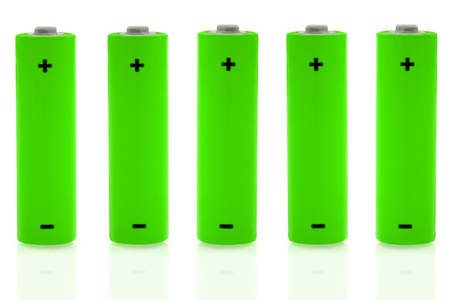 energy sources: Aa battery and renewable energy sources