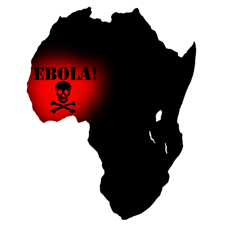 Ebola african virus disease and fever photo