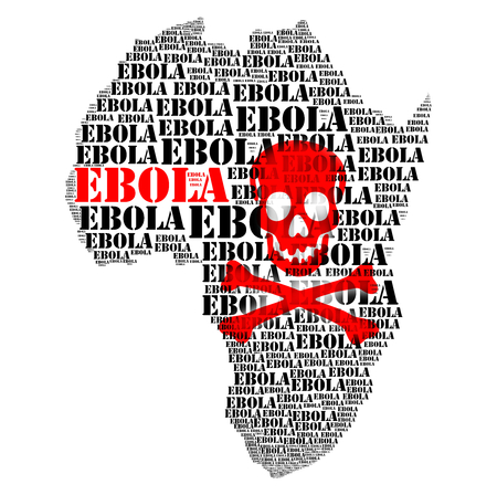Ebola african virus disease and  hemorrhage fever photo