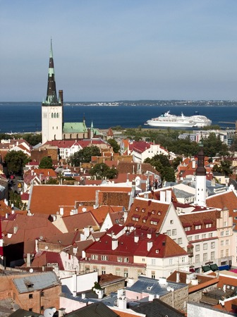 birdeye: Bird-eye view of Tallinn old town