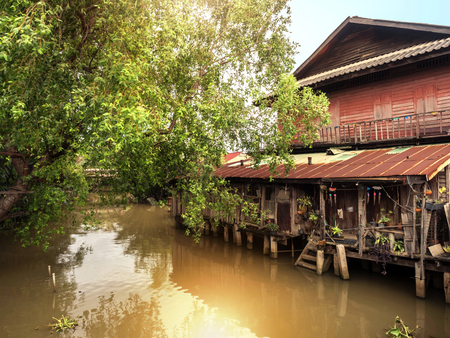 Old Thai style Waterfront house