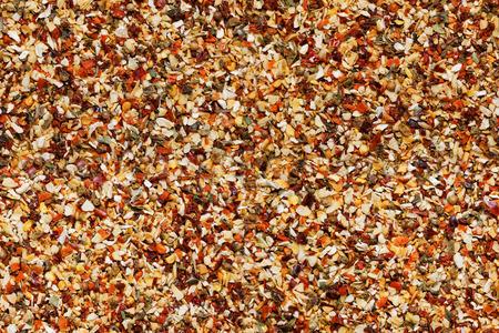 dried spice: Mezcla de especias secas de fondo sin fisuras