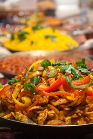 asia food: International Food Market Stock Photo