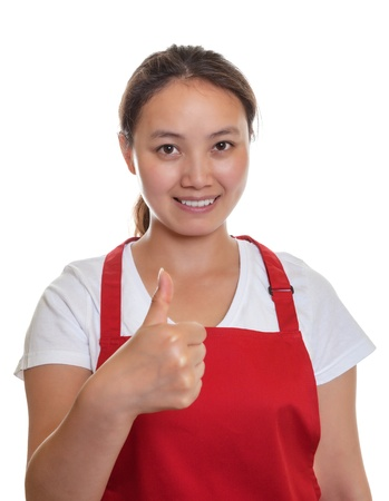 recommending: Recommending chinese waitress